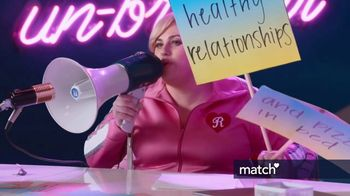 Match.com TV Spot, 'Pizza in Bed' Featuring Rebel Wilson - Thumbnail 5