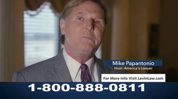 Levin Law TV Spot, 'Cancer Related to Zantac' Featuring Mike Papantonio - Thumbnail 6