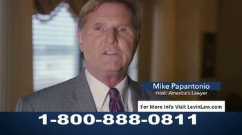 Levin Law TV Spot, 'Cancer Related to Zantac' Featuring Mike Papantonio - Thumbnail 8