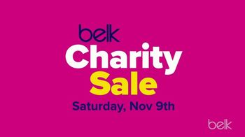 Belk Charity Sale TV Spot, '15 Percent Off and Coupon'