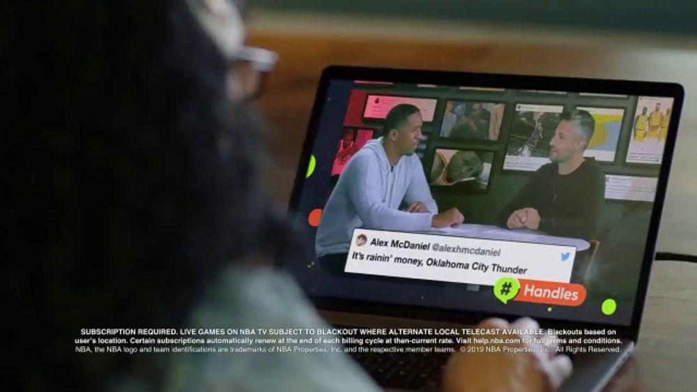 NBA App TV Commercial, 'Action: NBA TV'