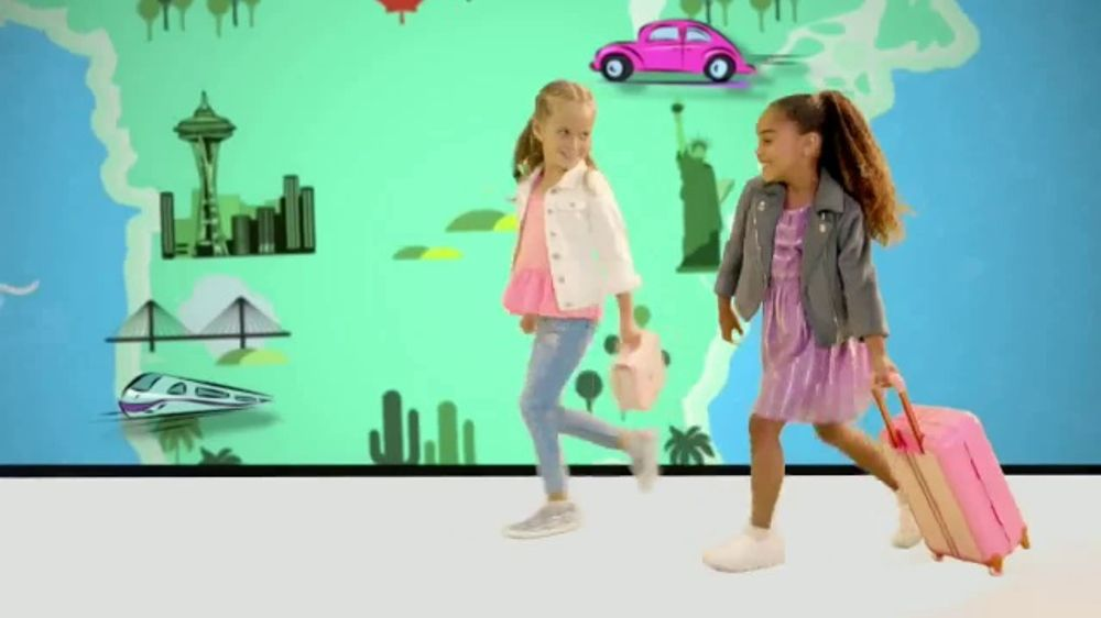 Disney Princess Style Collection TV Commercial, 'Disney Junior: Traveling the World'