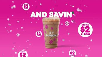 Dunkin' TV Spot, 'Delightin' with Dunkin' Holiday Flavors' - Thumbnail 8