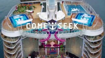 Royal Caribbean Cruise Lines TV Spot, 'Stop Wondering: Offline: 60 Percent Off' Song by Mapei - Thumbnail 9