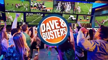 Dave and Buster\'s Unlimited Games and Wings TV Spot, \'Every Sunday, Monday and Thursday\'