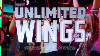 Dave and Buster's Unlimited Games and Wings TV Spot, 'Every Sunday, Monday and Thursday'