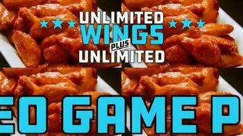 Dave and Buster's Unlimited Games and Wings TV Spot, 'Every Sunday, Monday and Thursday' - Thumbnail 6