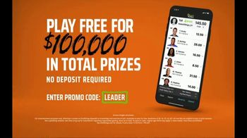 DraftKings TV Spot, 'Free-for-All Sweat' - Thumbnail 8