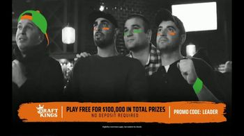 DraftKings TV Spot, 'Free-For-All Sweat'