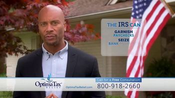 Optima Tax Relief TV Spot, 'Doesn't Mess Around'