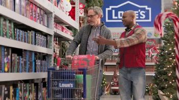 Lowe's Black Friday Deals TV Spot, 'Doing the Holidays Right'