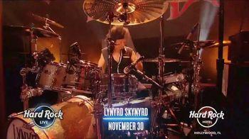 Hard Rock Hotels & Casinos TV Spot, '2019 Lynyrd Skynyrd, George Lopez and Bret Michaels' - Thumbnail 3