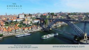 Emerald Waterways TV Spot, 'River Cruise' - Thumbnail 3