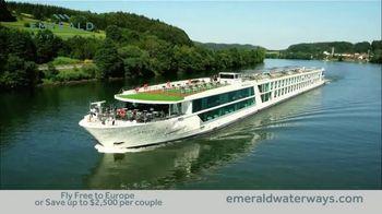 Emerald Waterways TV Spot, 'River Cruise' - Thumbnail 4