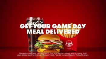 Wendy's TV Spot, 'Game Day Meal Delivered' - Thumbnail 8