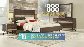Rooms to Go Holiday Sale TV Spot, 'Bedroom Set' - Thumbnail 3