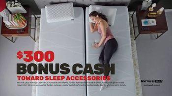 Mattress Firm Black Friday Sale TV Spot, 'Tempur-Pedic Mattresses: Save Up to $600 + Bonus Cash' - Thumbnail 6