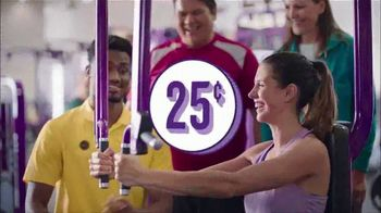 Planet Fitness 25 Cents Sale TV Spot, '$10 a Month & Free Fitness Training'