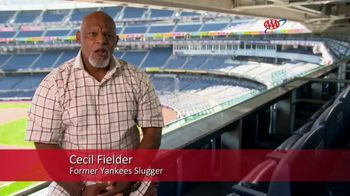AAA TV Spot, 'Slow Down, Move Over' Featuring Cecil Fielder - Thumbnail 2