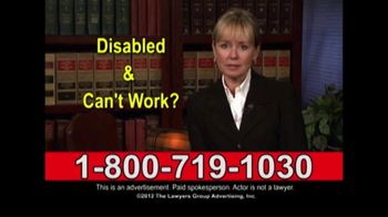 Lawyers Group TV Spot, 'Disability Lawyer'