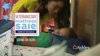 Ashley HomeStore Veterans Day Mattress Sale TV Spot, 'Going on Now: Adjustable Mattress Sets' - Thumbnail 2