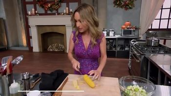 Food Network Kitchen App TV Spot, 'Giada's Trick for Getting Corn off the Cob' - Thumbnail 3