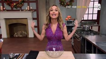 Food Network Kitchen App TV Spot, 'Giada's Trick for Getting Corn off the Cob' - Thumbnail 7