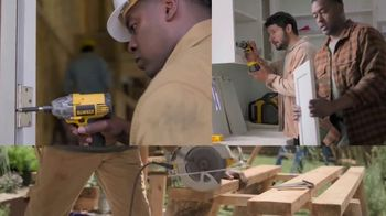 Lowe's Black Friday Deals TV Spot, 'Every Pro Deserves a Holiday Upgrade: Dewalt Drill or Kit' - Thumbnail 2