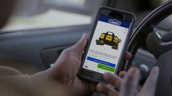 Lowe's Black Friday Deals TV Spot, 'Every Pro Deserves a Holiday Upgrade: Dewalt Drill or Kit' - Thumbnail 4