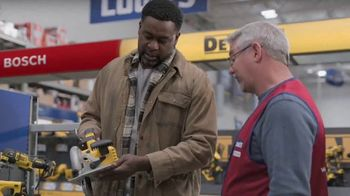 Lowe's Black Friday Deals TV Spot, 'Every Pro Deserves a Holiday Upgrade: Dewalt Drill or Kit' - Thumbnail 6
