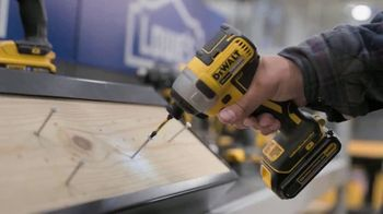Lowe's Black Friday Deals TV Spot, 'Every Pro Deserves a Holiday Upgrade: Dewalt Drill or Kit' - Thumbnail 7
