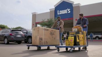 Lowe's Black Friday Deals TV Spot, 'Every Pro Deserves a Holiday Upgrade: Dewalt Drill or Kit' - Thumbnail 9
