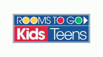 Rooms to Go Kids and Teens Holiday Sale TV Spot, 'Complete Twin Bed, Dresser and Mirror' - Thumbnail 1
