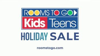 Rooms to Go Kids and Teens Holiday Sale TV Spot, 'Complete Twin Bed, Dresser and Mirror' - Thumbnail 4