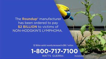 Watts Guerra TV Spot, 'Roundup: Non-Hodgkin's Lymphoma'