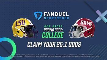 FanDuel Sportsbook TV Spot, 'Special Report: LSU at Alabama'