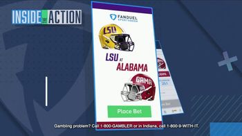 FanDuel Sportsbook TV Spot, 'Special Report: LSU at Alabama' - Thumbnail 3