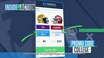 FanDuel Sportsbook TV Spot, 'Special Report: LSU at Alabama' - Thumbnail 4