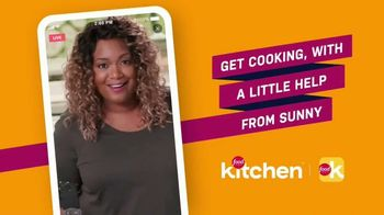 Food Network Kitchen App TV Spot, 'A Little Help From Sunny' - 15 commercial airings