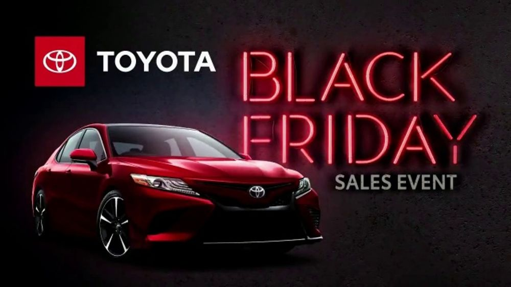 Toyota Black Friday Sales Event Tv Commercial Back By Popular Demand Camry And Corolla T2 Ispot Tv