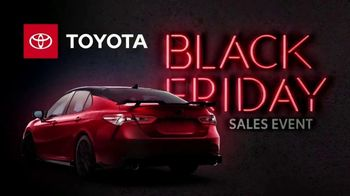 Toyota Black Friday Sales Event TV Spot, 'Back by Popular Demand: Camry and Corolla' [T2] - Thumbnail 5