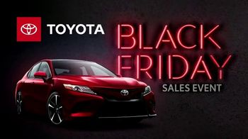 Toyota Black Friday Sales Event TV Spot, 'Back by Popular Demand: Camry and Corolla' [T2] - Thumbnail 1