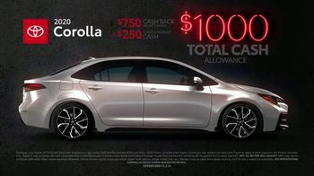 Toyota Black Friday Sales Event TV Spot, 'Back by Popular Demand: Camry and Corolla' [T2] - Thumbnail 4