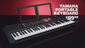 Guitar Center TV Spot, 'Great Gifts: Keyboard and Speaker' - Thumbnail 4
