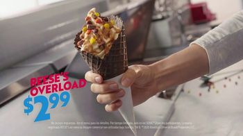 Sonic Drive-In Reese's Overload Waffle Cone TV Spot, 'Nieve antes de comer' [Spanish] - Thumbnail 7