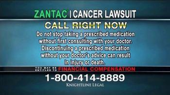 Knightline Legal TV Spot, 'Zantac: Cancer Lawsuit' - Thumbnail 7