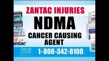 Davis & Crump, P.C. TV Spot, 'Zantac' - Thumbnail 4