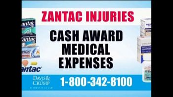 Davis & Crump, P.C. TV Spot, 'Zantac' - Thumbnail 7