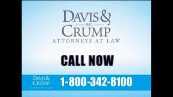 Davis & Crump, P.C. TV Spot, 'Zantac' - Thumbnail 9