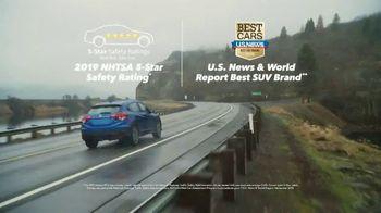2019 Honda HR-V AWD LX TV Spot, 'Discover the Northwest: Snowboarding' [T2] - Thumbnail 4